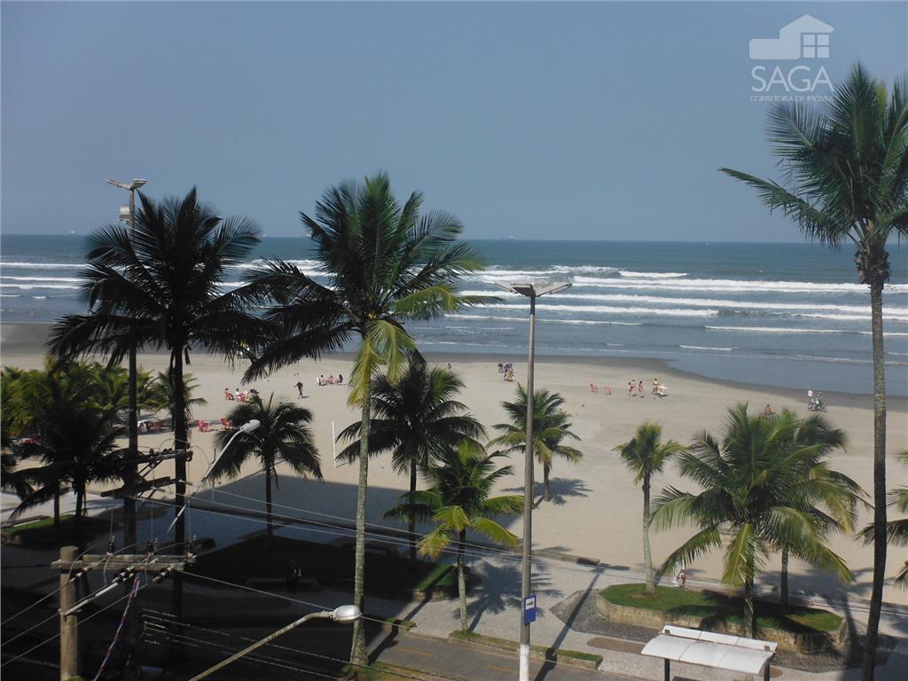 Imperdível, Apartamento, 2 Dormitórios, de Frente para o Mar, Mobiliado, Vila Tupi, Praia Grande.