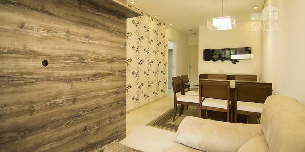 Apartamento  residencial à venda, Novo Mobiliado, 2 Dormitórios, Canto do Forte, Praia Grande.