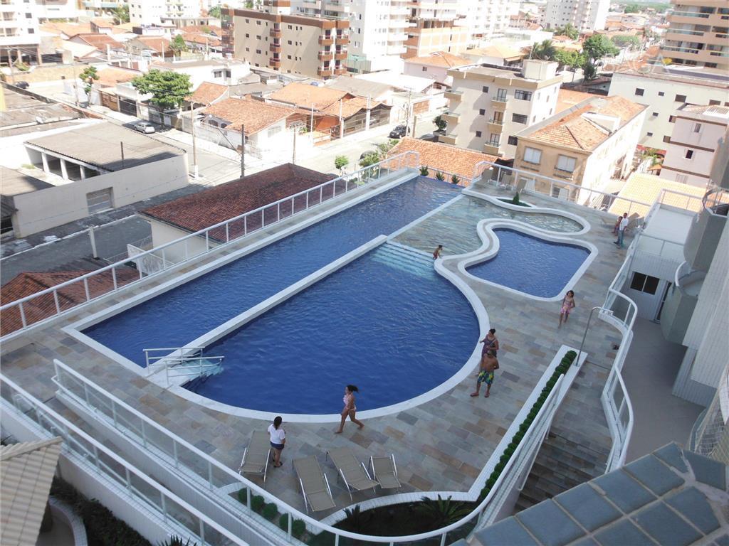 Apartamento 3 dormitórios com 3 suítes, sacada gourmet, lazer completo  à venda, Campo da Aviação, Praia Grande.
