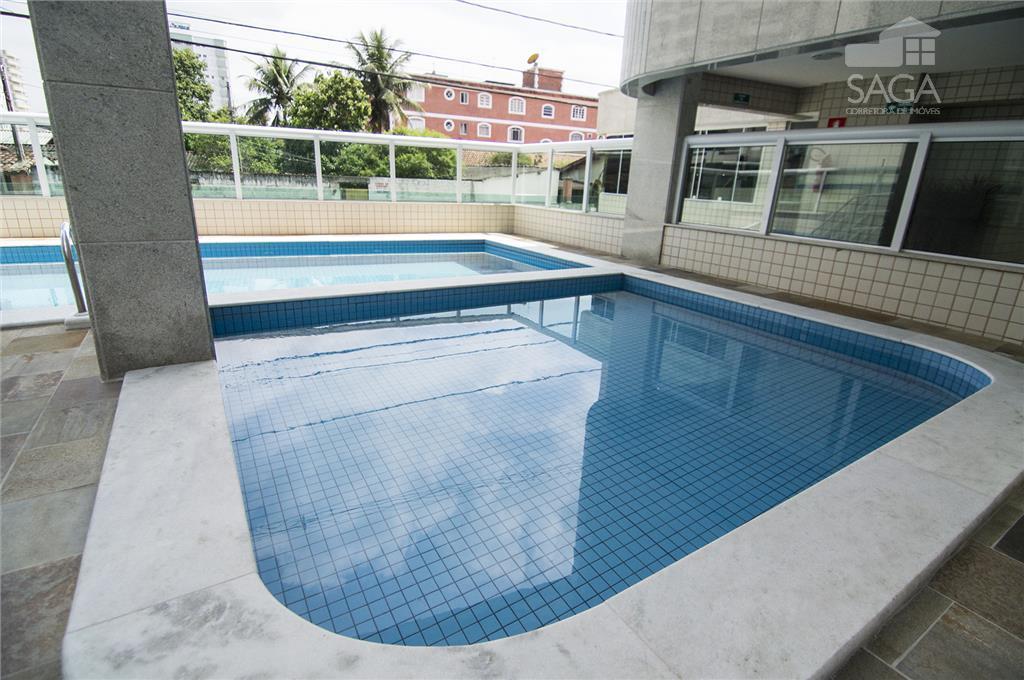 Apartamento residencial à venda, Novo, 2 Dormitórios, Suíte, Varanda Gourmet, Piscina, Campo da Aviação, Praia Grande.
