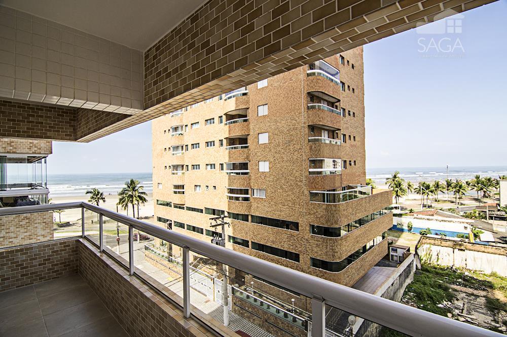 Apartamento Novo residencial à venda, 3 Dormitórios, Suíte, Varanda Gourmet, Piscina, Vista Mar, Cidade Ocian, Praia Grande.