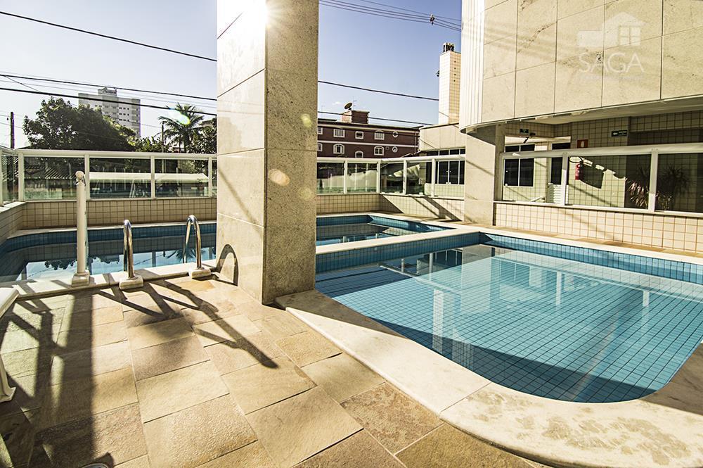 Apartamento residencial à venda, 1 Suíte, Varanda Gourmet, Piscina, Salão de Festas e Jogos, Campo da Aviação, Praia Grande.