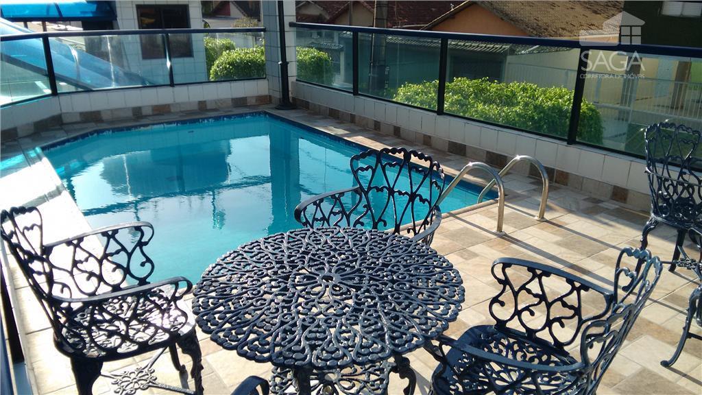 Apartamento 1 Dormitório à venda, com Piscina Cidade Ocian, Praia Grande.