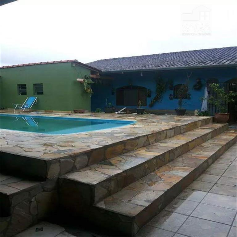 Casa  com Piscina, Edícula à venda, Balneário Itaguaí, Mongaguá.