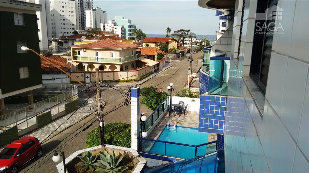 Apartamento à Venda,2 Dormitórios com Suíte, Cidade Ocian, Praia Grande.