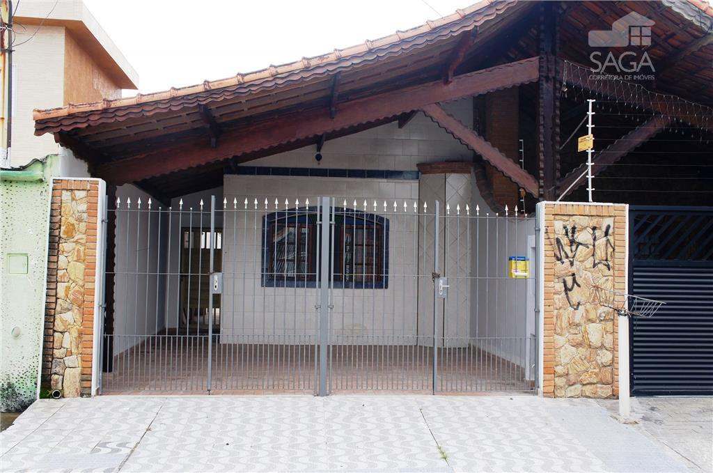 Casa  residencial à venda, 2 Dormitórios, Geminada, Suíte, Vila Tupi, Praia Grande.