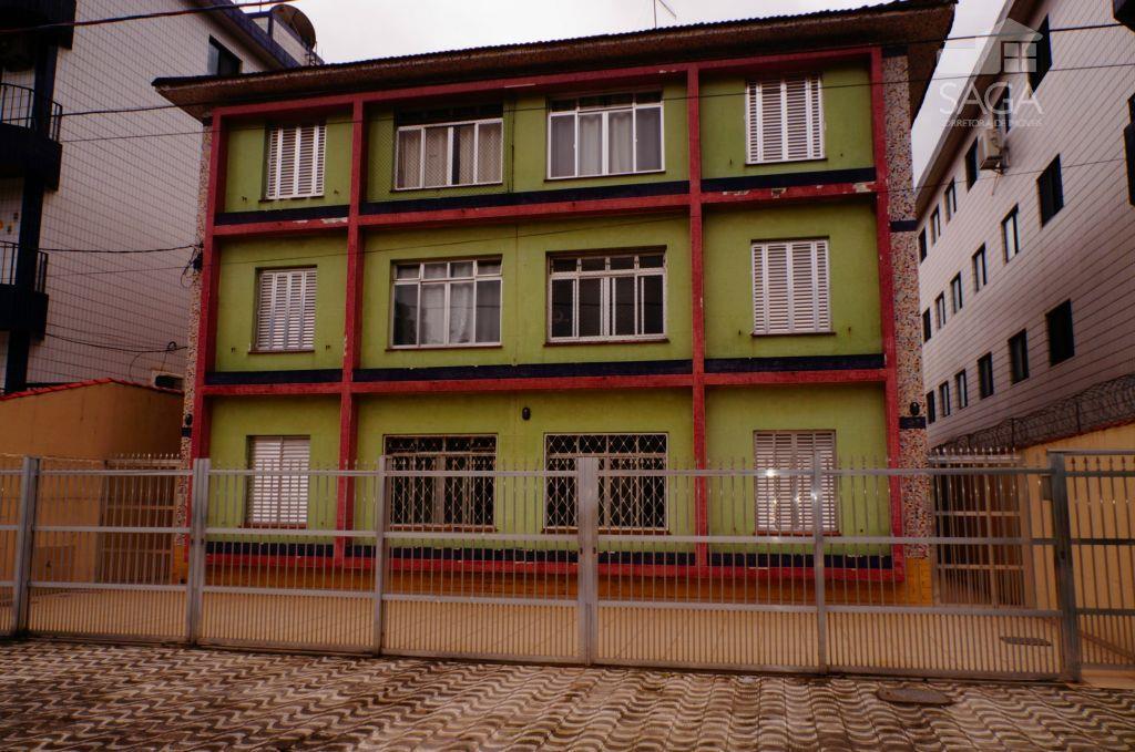 Apartamento residencial à venda, 1 dormitório, financia, Canto do Forte, Praia Grande.