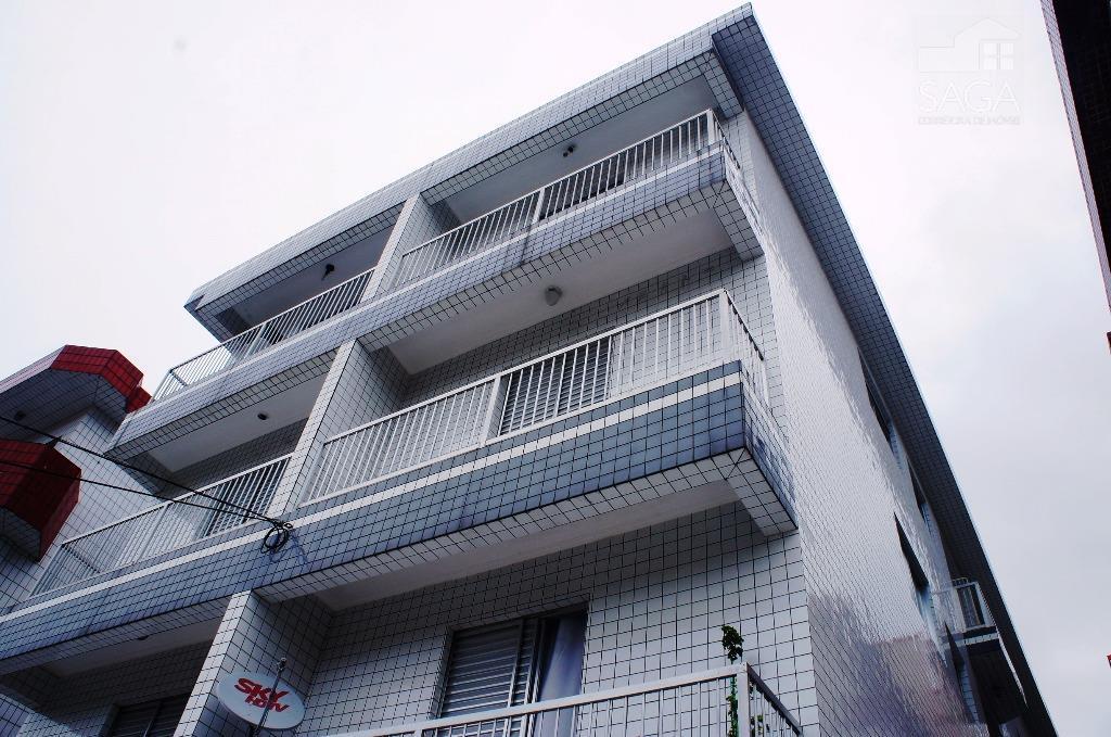 Apartamento  Residencial à venda, 1 Dormitório, Vila Guilhermina, Praia Grande.