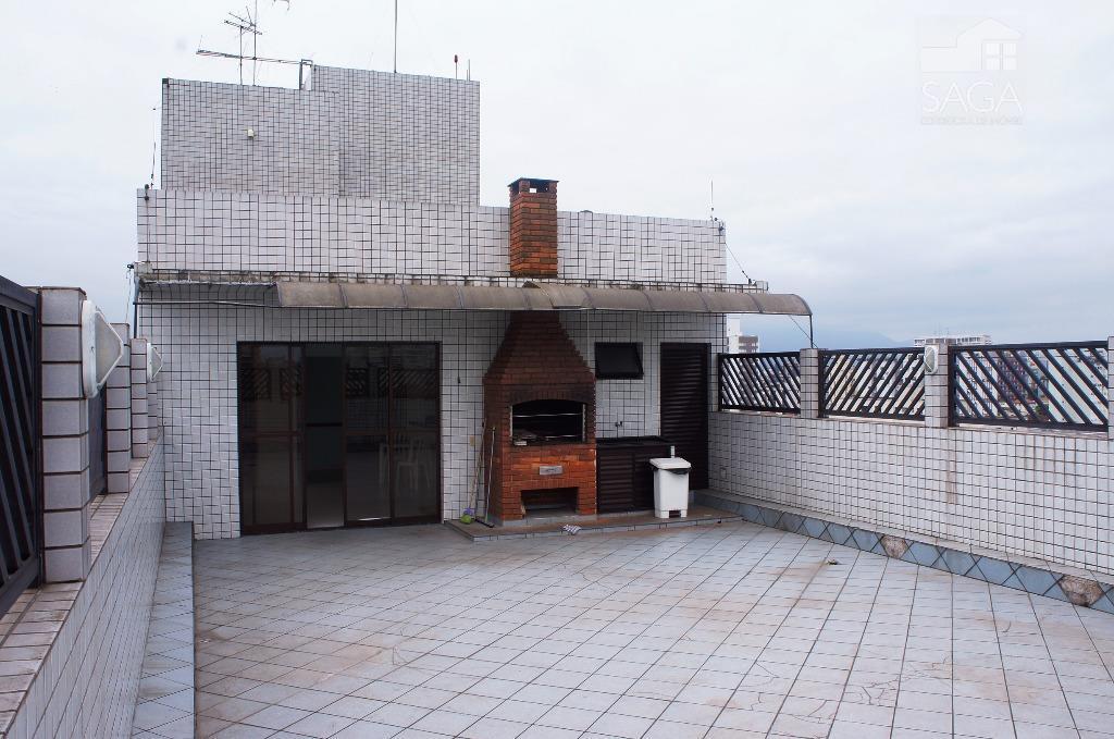 Apartamento  residencial à venda, 2 Dormitórios, Churrasqueira,  Campo Grande, Santos.