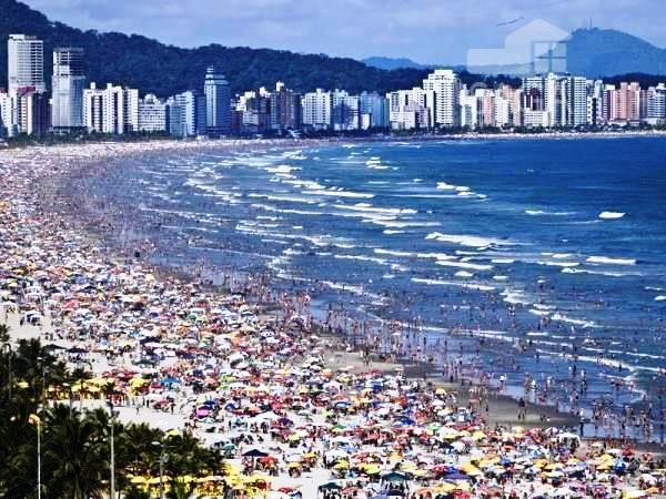 Apartamento  residencial à venda, 1 Dormitório, 52 M², Cidade Ocian, Praia Grande.