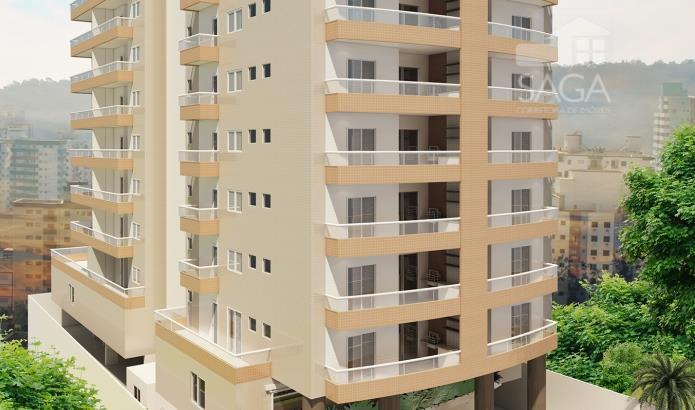 Apartamento residencial à venda, Sacada Gourmet com churrasqueira e Lazer na Cobertura Vila Guilhermina, Praia Grande - AP1213.