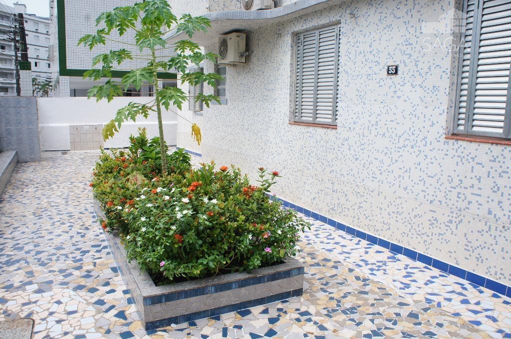 Oportunidade Apartamento 1 Dormitório a 150m da Praia  à venda, Vila Guilhermina, Praia Grande.
