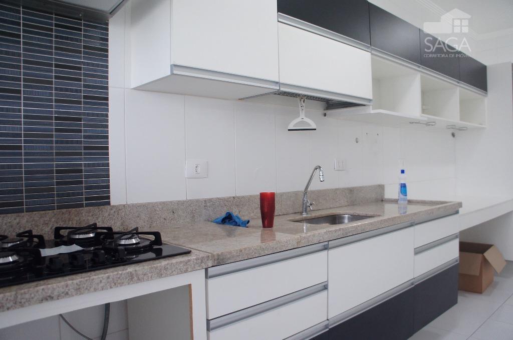 Apartamento 3 Dormitórios com Planejados, sacada Gormet, Lazer Completo à venda, Vila Guilhermina, Praia Grande.