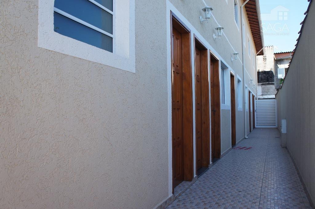 Casa Superior em Condomínio Fechado , Tude Bastos (Sítio do Campo), Praia Grande.