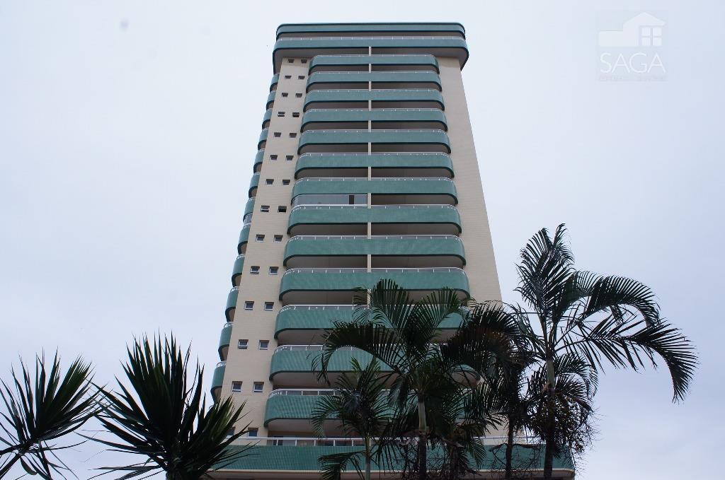Apartamento Vista Mar, 2 Suítes, Sacada Gourmet, Lazer Completo, à venda, Vila Guilhermina, Praia Grande.