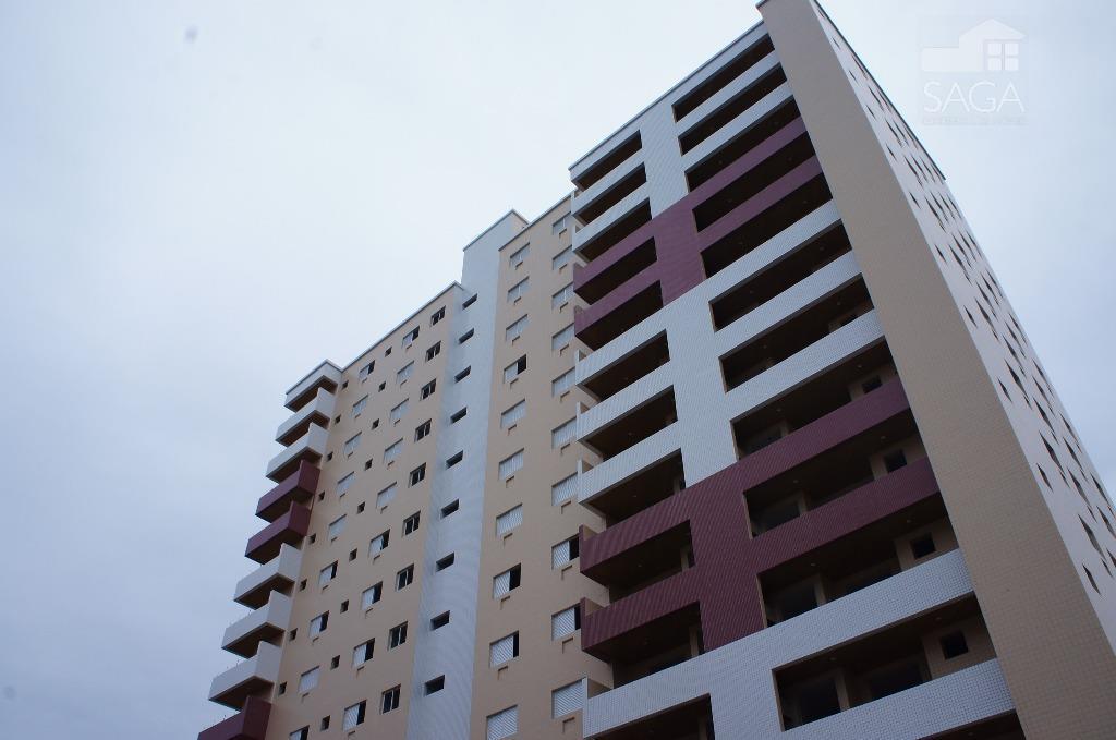 Imperdível! Apartamento Novo à venda, Vila Guilhermina, Praia Grande.