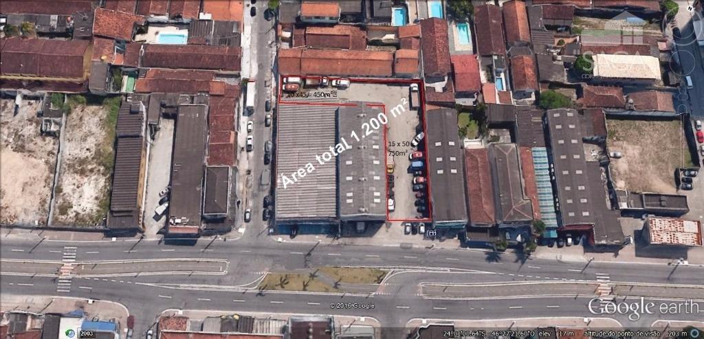 Terreno  comercial para venda e locação, Vila Tupi, Praia Grande.