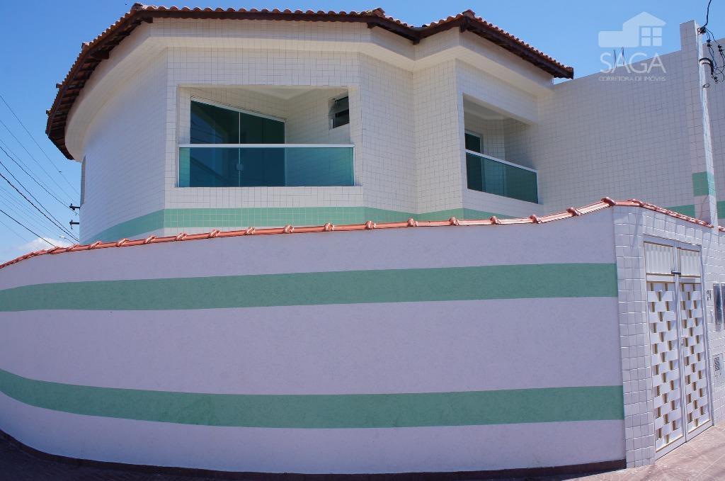 Sobrado Novo com 2 Suítes à venda, Tude Bastos (Sítio do Campo), Praia Grande.