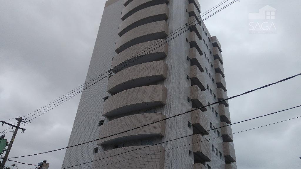 Apartamento 1 dorm  com 1 suíte, Vila Guilhermina, Praia Grande.