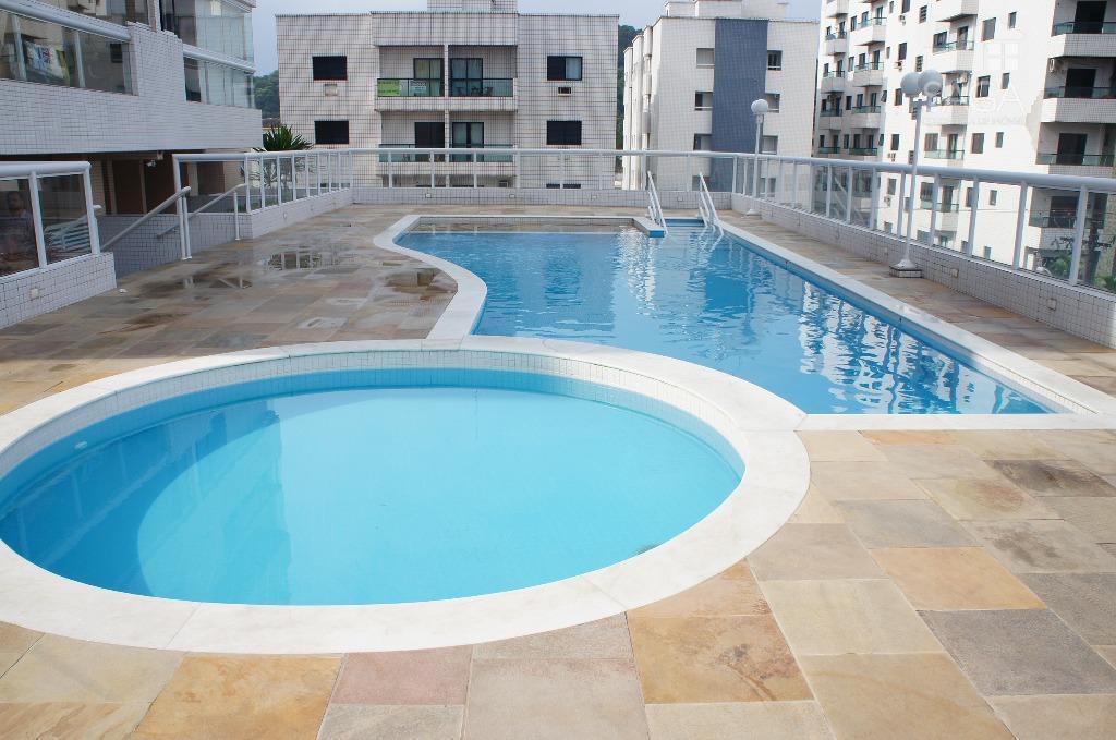 Apartamento 3 dormitorios sendo 2 suites mobiliado lazer completo no Canto o Forte