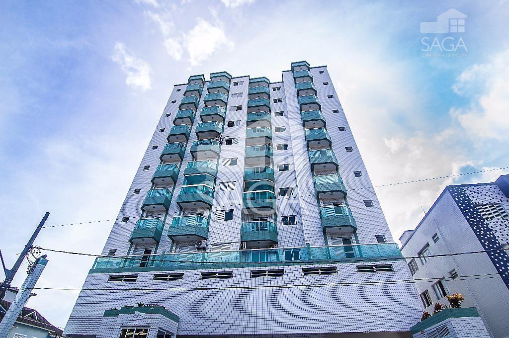 Apartamento à venda, 2 Dormitórios, Suíte, Sacada, Vista Livre, Elevador, Canto do Forte, Praia Grande.