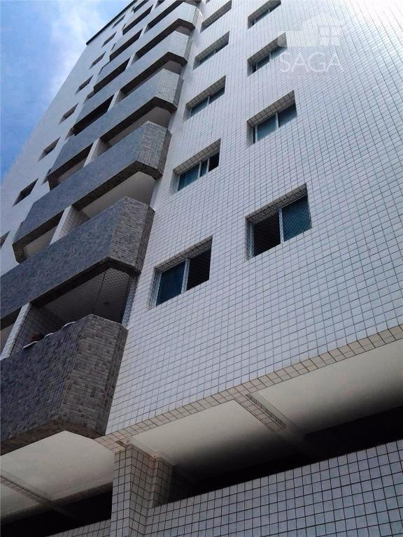 Apartamento residencial à venda, Vila Guilhermina, Praia Grande - AP1772.