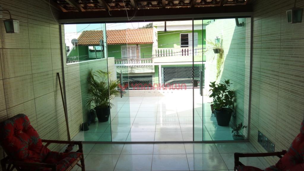 Sobrado residencial à venda, Vila Carmosina, São Paulo.