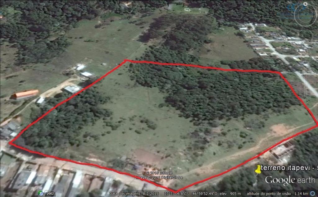 Área rural à venda, Parque Boa Esperança, Itapevi.