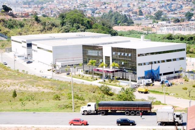 Galpão industrial para locação, Jardim Alvorada, Jandira.
