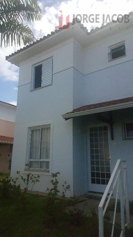 Casa com 3 dormitórios à venda, 88 m² por R$ 375.000 - Condomínio Villa Flora - Votorantim/SP