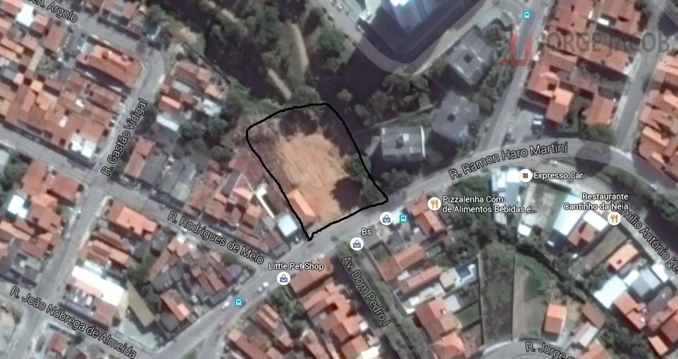 Área  residencial à venda, Vila Haro, Sorocaba.