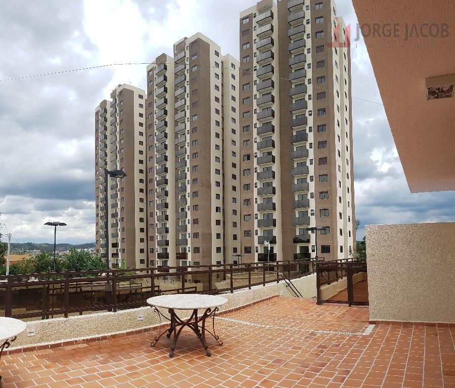 Apartamento residencial para locação, Jardim Santa Fé, Sorocaba.