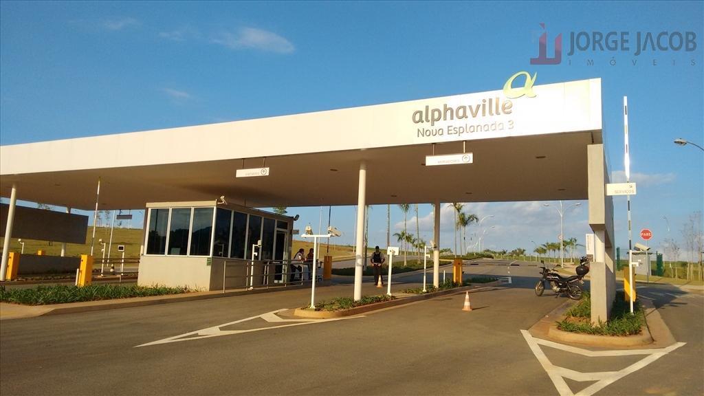 Terreno residencial à venda, Alphaville Nova Esplanada III, Votorantim.