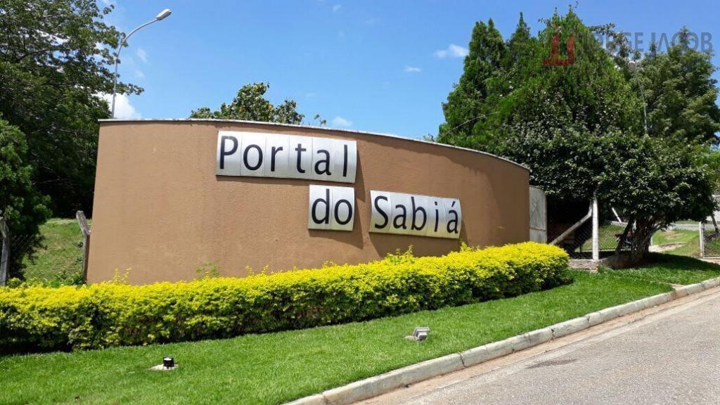 Terreno residencial à venda, Condomínio Portal do Sabiá, Araçoiaba da Serra - TE0636.
