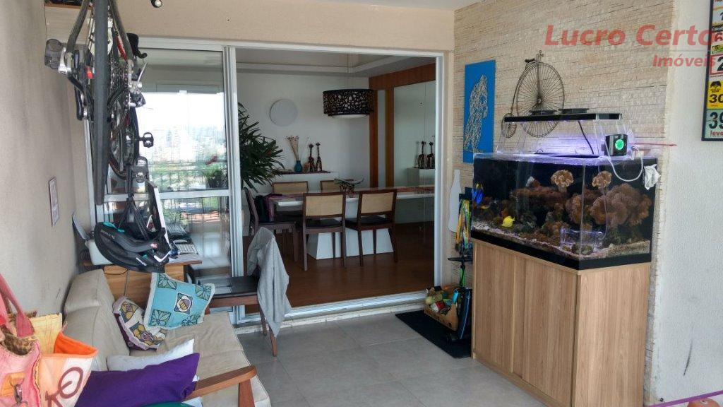 apto de 104 m², mobiliado, porteira fechada, sala integrada a varanda gourmet com churrasqueira, piso em...