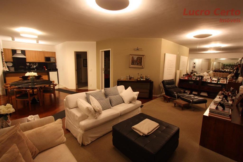 Apartamento com 3 dormitórios à venda, 132 m² por R$ 1.600.000 - Alto de Pinheiros - São Paulo/SP