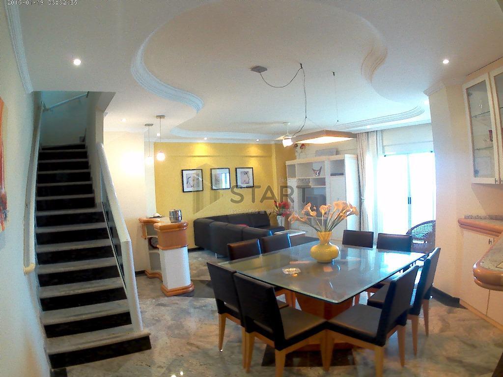 Belíssima Cobertura Duplex a 80 metros do Mar. 3 dormitórios sendo 3 suítes, Ocian, Praia Grande- Sp