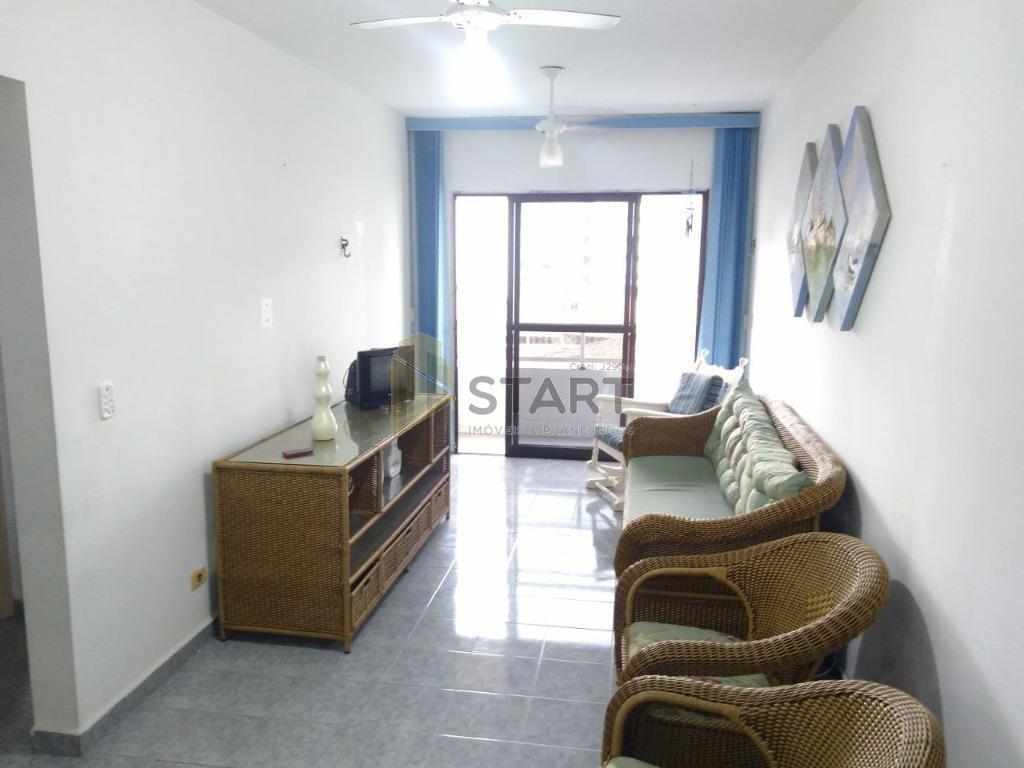 lindo apartamento com 2 dormitórios uma suite sacada com vista pro mar,copa cozinha ,lavanderia,mobiliado a poucos...