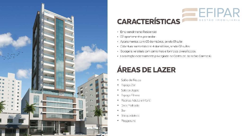 projeto arquitetônico exclusivo e moderno, localizado no melhor endereço de balneário camboriú.cobertura- horizontal- terraço de lazer...