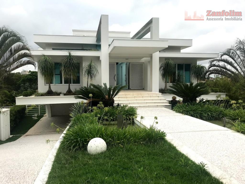 Casa residencial à venda, Residencial Três (Tamboré), Santana de Parnaíba.