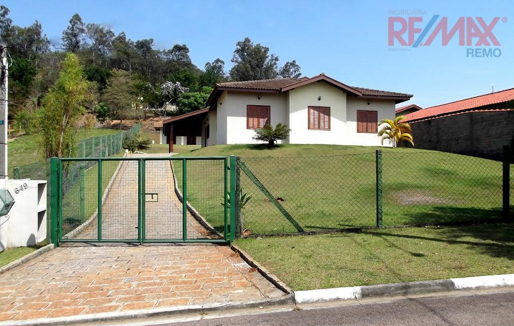 Casa residencial para locação, Condomínio Vila Hípica I, Vinhedo.