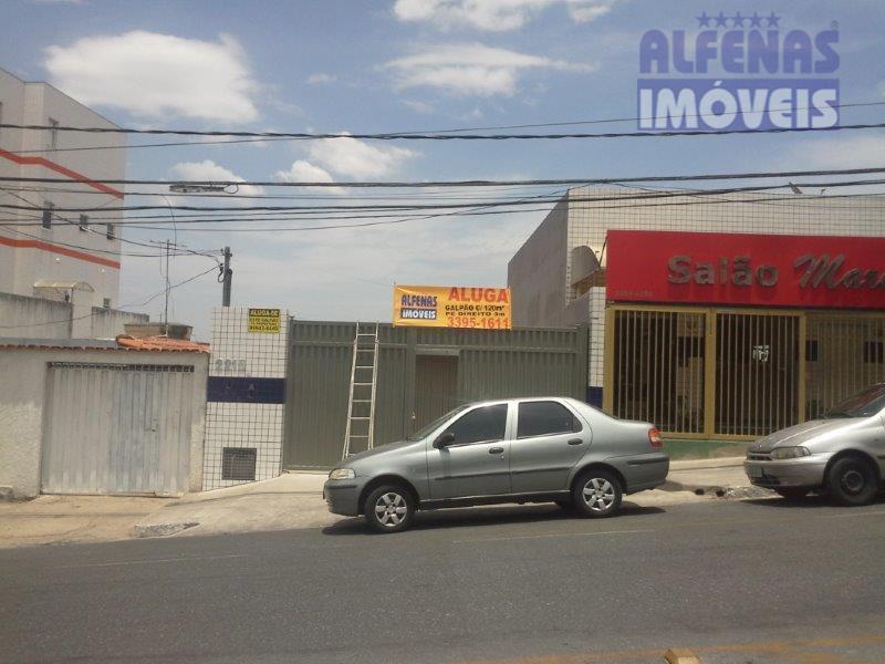 Galpão comercial para locação, Eldorado, Contagem - GA0160.