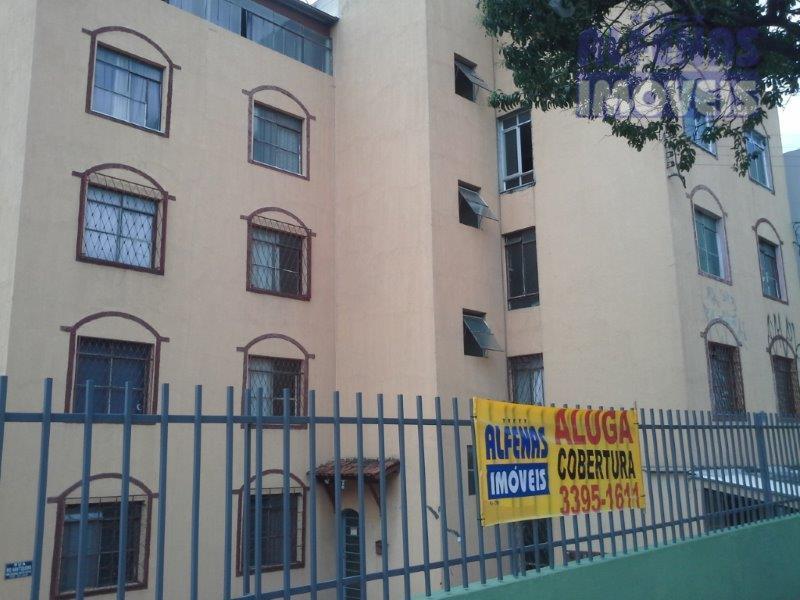 Cobertura residencial para locação, Novo Riacho, Contagem - CO0841.