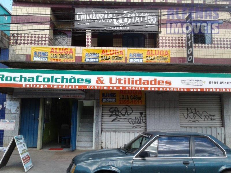 Loja comercial para locação, Nova Contagem, Contagem.