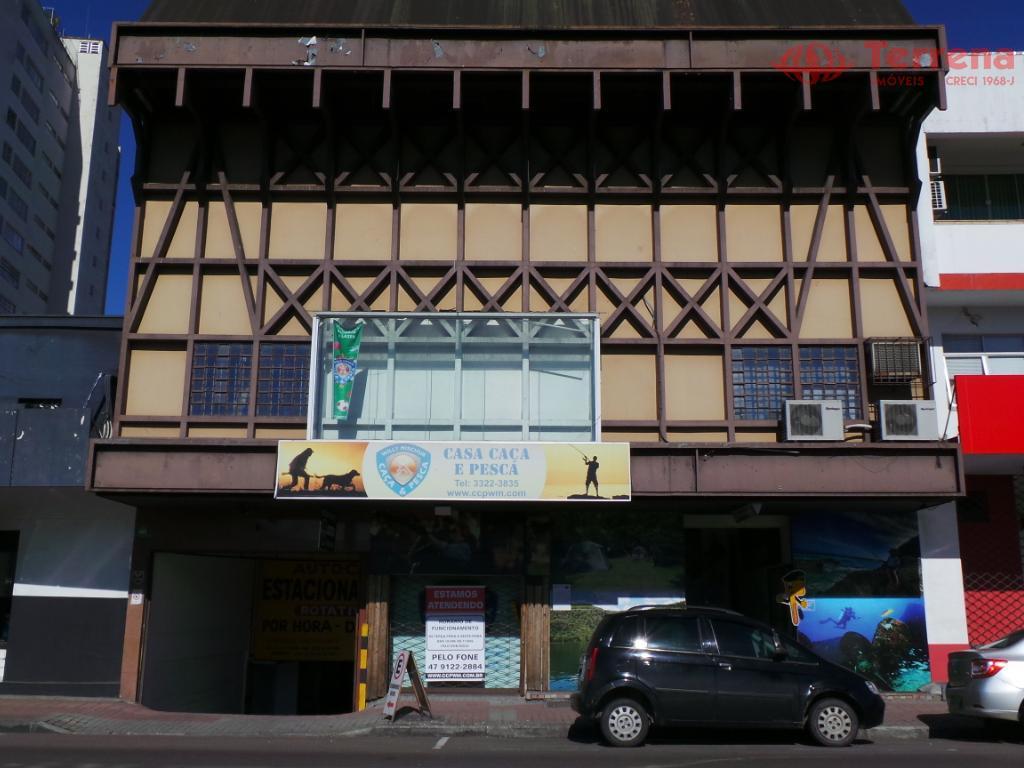 Loja comercial para locação, Centro (Blumenau), Blumenau.