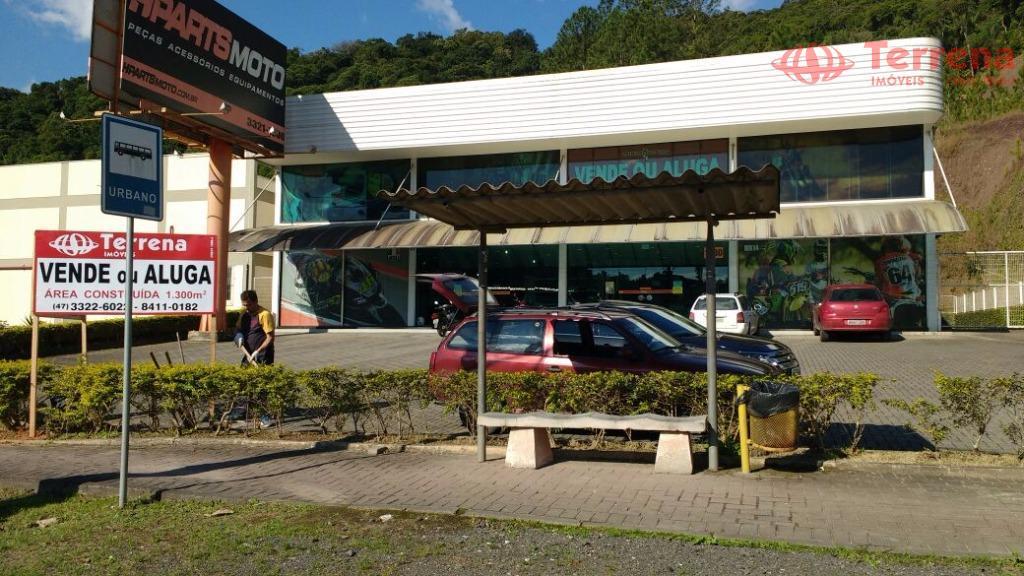 Loja /Prédio Comercial para venda ou locação, Ponta Aguda, Blumenau - SC