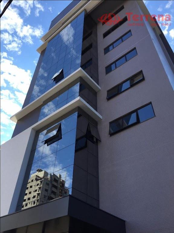 Conjunto de salas no Ed. Mont Blanc Office, Novas com 3 vagas, Velha , Blumenau - SC