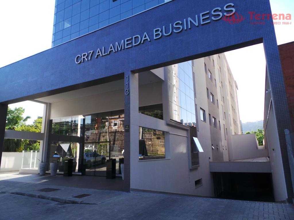 Conjunto de Salas para Venda e Locação, Alameda Business, Jardim Blumenau - Blumenau/SC