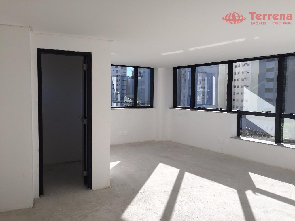 moderno e novo! (2 salas lado á lado)ed. square office, próximo a alameda rio branco, em...