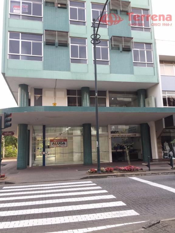 Sala Comercial para locação, Bairro Centro, Cidade Blumenau